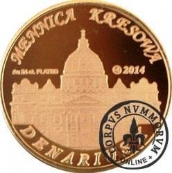 10 denarów - DENARIUS X (mosiądz platerowany złotem 24k - wersja krajowa) / Jan XXIII