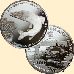 100 złotych rybek (Ag.925) -  VIII emisja / GŁOWACICA