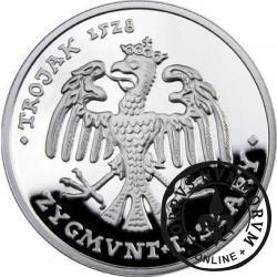 40 orłów - Trojak 1528 / Zygmunt I Stary (Ag)