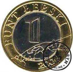 1 funt łebski (II emisja)