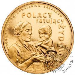 2 złote - Polacy ratujący Żydów