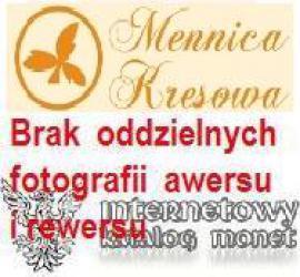 10 miedziaków królewskich - Władysław II Jagiełło wg. A. Lessera (mosiądz patynowany)