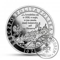 10 złotych - 100. rocznica urodzin Jana Pawła II (bitwa warszawska)
