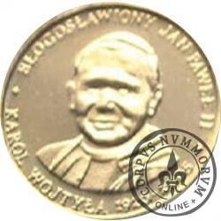20 Diecezji - Błogosławiony Jan Paweł II - Karol Wojtyła 1920-2005 (żeton pozłacany)