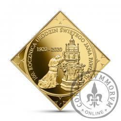 500 złotych - 100. rocznica urodzin Jana Pawła II (bitwa warszawska)