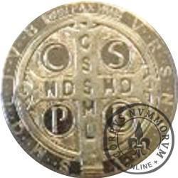 moneta medalik św. Benedykta