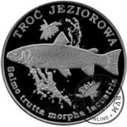 10 złotych rybek (alpaka) - XLIX emisja / TROĆ JEZIOROWA