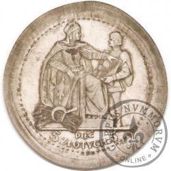 5 złotych - Konstytucja - Ag, 81, bez zn. men., st. L, bok z nap., bez pierścienia