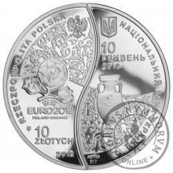 10 złotych 10 hrywien - Mistrzostwa Europy w Piłce Nożnej UEFA Euro 2012