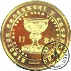 7 skarbów - KIELICH KRÓLEWSKI Z TRZEMESZNA (mosiądz)