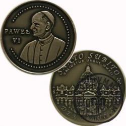 10 denarów - DENARIUS X (alpaka oksydowana) / Bazylika Św. Piotra w Rzymie / Santo Subito – Paweł VI