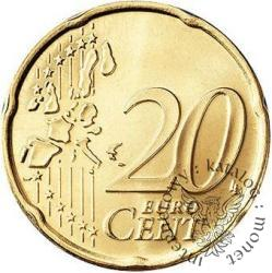 20 euro centów (D)