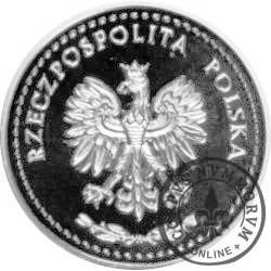 SYMBOLE NARODOWE POLSKI - HISTORIA GODŁA POLSKIEGO / Orzeł Rzeczpospolitej Polskiej (Ag - I emisja)