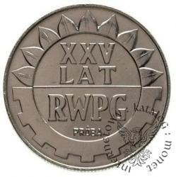 20 złotych - XXV lat GWPG - napis wypukły