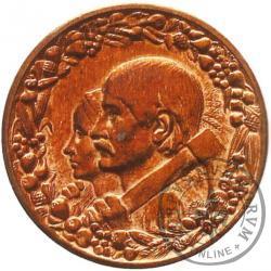 10 złotych - dwie głowy brąz