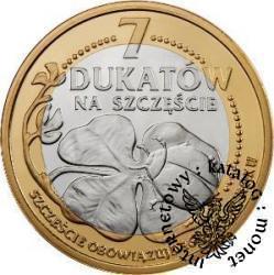 7 dukatów na szczęście 2012 (bimetal)
