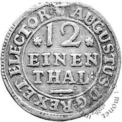 dwugrosz (1/12 talara) - EPH monogram