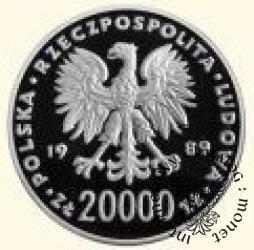 20 000 złotych - XIV Mistrzostwa Świata w Piłce Nożnej Włochy 1990