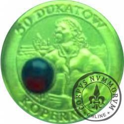 50 dukatów Kopernika (mosiądz pozłacany) - Olsztyn