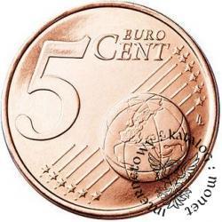 5 euro centów - Jan Paweł II