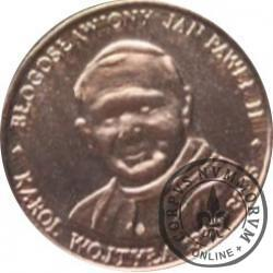 20 Diecezji - Błogosławiony Jan Paweł II - Karol Wojtyła 1920-2005 (żeton miedziowany, stempel odwrócony)