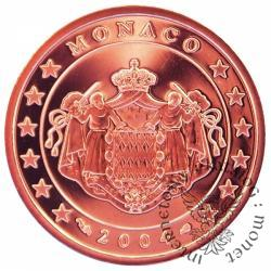1 euro cent - stempel lustrzany