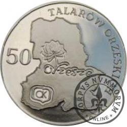 50 talarów orzeskich (mosiądz)