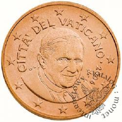 5 euro centów - Benedykt XVI