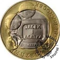 9 dobranocek - JACEK I AGATKA (bimetal)