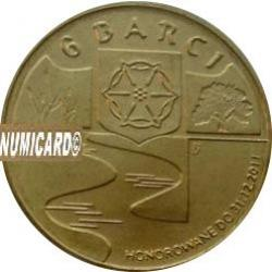 6 barci - Barcin (mosiądz z tampondrukiem)