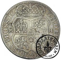 złotówka koronna = 1/3 talara - ornament