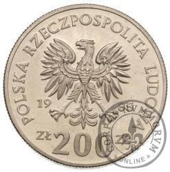 200 złotych - bramkarz CuNi