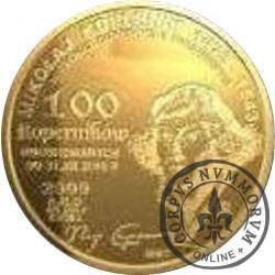 100 koperników / Mikołaj Kopernik (mosiądz)
