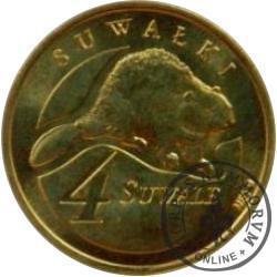 4 suwale (I emisja - mosiądz) / Bóbr