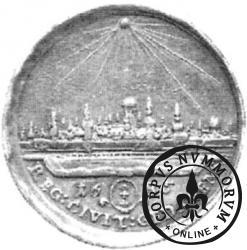 donatywa dwudukatowa - panorama Gdańska (Ag)