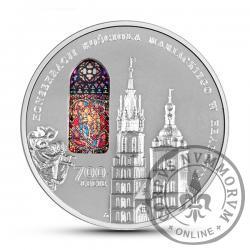 50 złotych - 700-lecie konsekracji kościoła Mariackiego w Krakowie