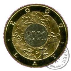 2 złote - Rok 2000