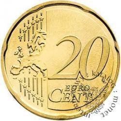 20 euro centów - Benedykt XVI