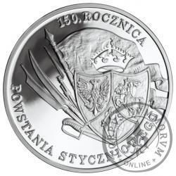 10 złotych - 150. rocznica Powstania Styczniowego