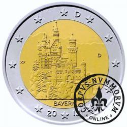 2 euro (D) - Zamek Neuschwanstein