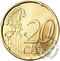 20 euro centów (E)