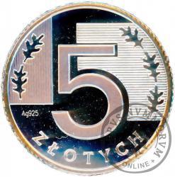 5 złotych - miniatura - Ag