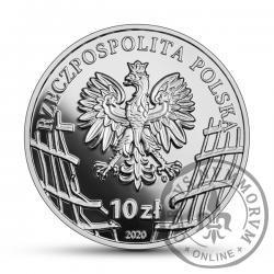 """10 złotych - Mieczysław Dziemieszkiewicz """"Rój"""""""