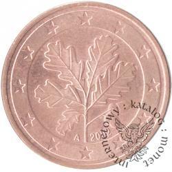 5 euro centów (A)