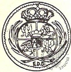 grosz (1/24 talara) - EDC, L i trójkropki