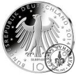 10 euro - 150-ta rocznica urodzin Ryszarda Straussa