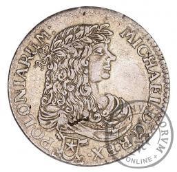 złotówka koronna = 1/3 talara - bez ornamentu