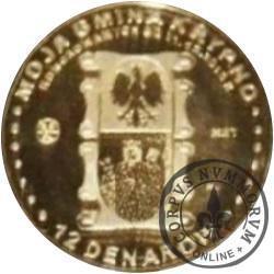 12 denarów KRYPNO (mosiądz) / BEATYFIKACJA JANA PAWŁA II