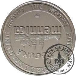 srebrny orzeł (Ag - wersja kolekcjonerska)
