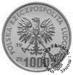 1000 złotych - serca
